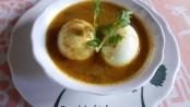 Masala Egg Curry in Coconut Milk