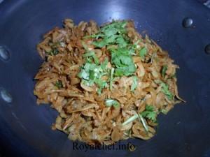 Small diied fish Maharashtrian Dish