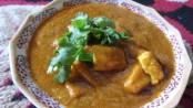 Delicious Saffron Paneer Gravy