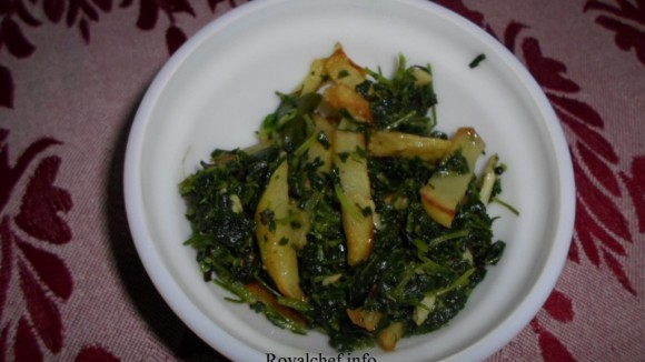 Methi Batata Bhaji Marathi Recipe 2