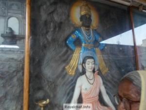 Photograph of Vithal and Sant Dnyaneshwar