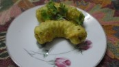 Macaroni Samosa an Indian Snack