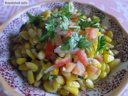 Sweet Corn Bhel