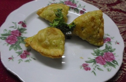 Green Harbara Samosas
