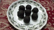 Homemade Cheese or Mawa Chocolate Balls