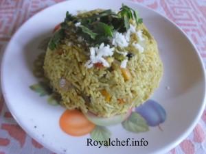 Mushroom Bhaat