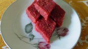 Coconut Beetroot Barfi