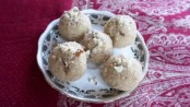 Home made Gulkand Ladoo