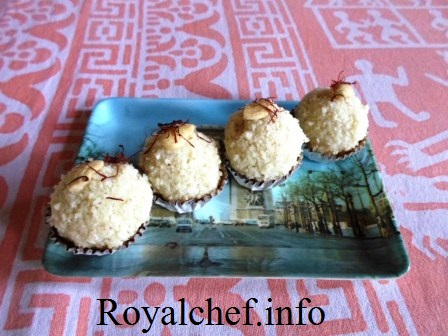 Homemade Paneer- Khoya Laddu