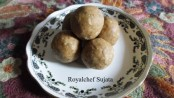 Shingada (Water Chest-nuts) Ladoos