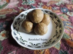 Shingada (Water Chest-nuts) Ladoos