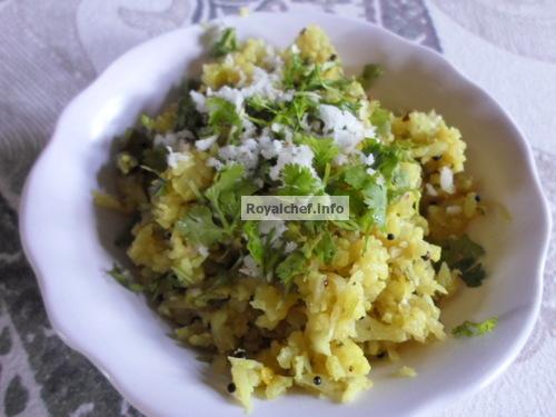 Cauliflower Upma
