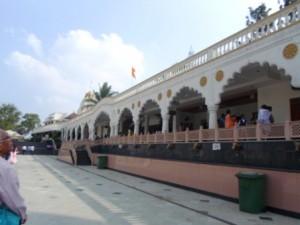 Side View of the Shirdi Sai Baba Mandir on Pune-Alandi Road