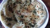 Coriander leaves Paratha