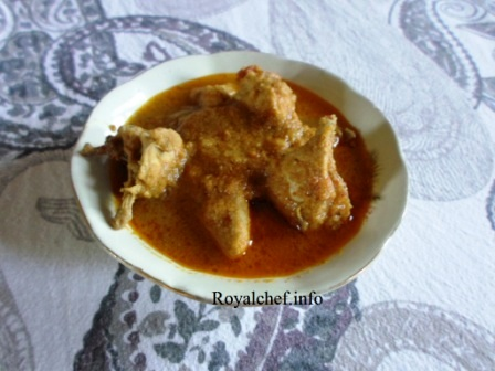 Traditional Konkani Chicken Gravy