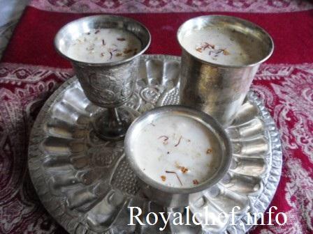 Shahi Masala Doodh for Sharad Purnima