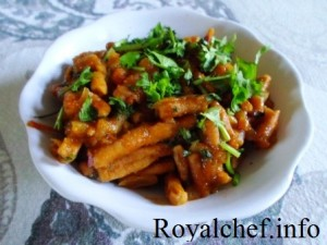 Homemade Spicy Sev Bhaji