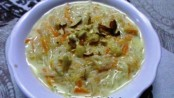 Carrot Seviyan Kheer an famous Indian Kheer