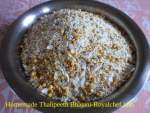 Homemade Khamang Thalipeeth Bhajani