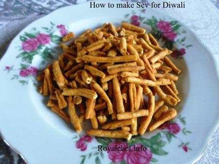 Homemade Sev for Diwali