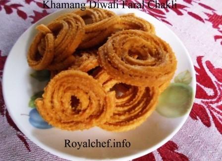 Maharashtrian Diwali Faral Chakli