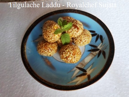 Sesame Seeds Laddu