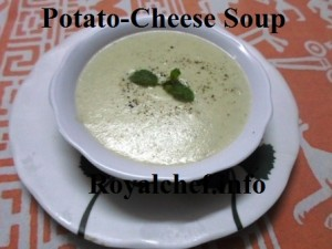 Cheese Batata Soup