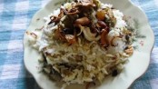 Cashew nuts and Raisins Pulao