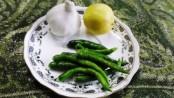 Spicy Hirvya Mirchicha Kharda or Chutney