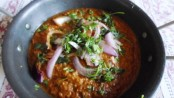 Spicy Prawns Cream Rassa Marathi Recipe