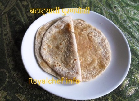 Potato Puran Poli