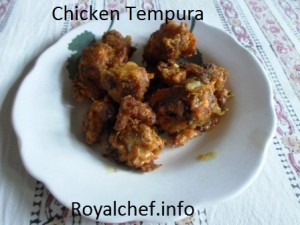 Crispy Chicken Tempura