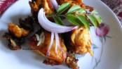 Spicy Deep-Fried Chicken