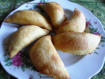 Mawa or Whole Dried Milk Khoya Dry Fruits Karanji Samosa