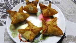 Shahi Khoya Karanji