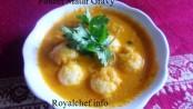 Tasty Paneer Matar Ball Curry