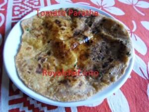 Maharashtrian Tomato Paratha