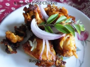 Spicy Masala Fried Chicken