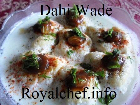 Tasty Dahi Vadas