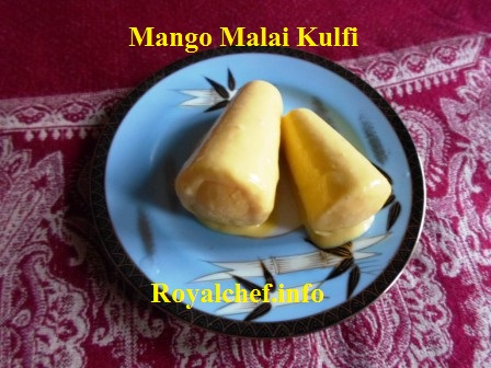 Mango Malai Ice Cream