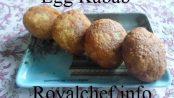 Crispy Tasty Egg Kabeb