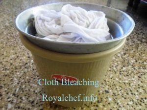 White Clothes Bleaching