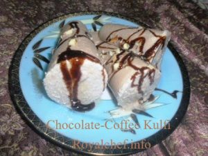 Coffee Chocolate Kulfi