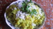 Fried Egg Poha