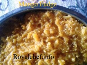 Tasty Mango Fudge