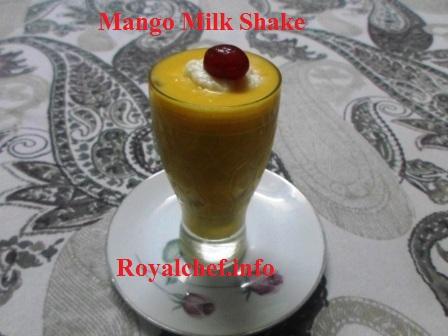 Saffron Mango Milkshake
