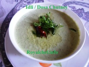 Restaurant Style Chutney for Idli, Masala Dosa, Uthappa and Vadas