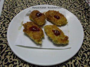 Veg Hariyali Kabab
