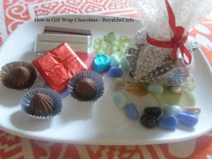 How to Gift Wrap Homemade Chocolates