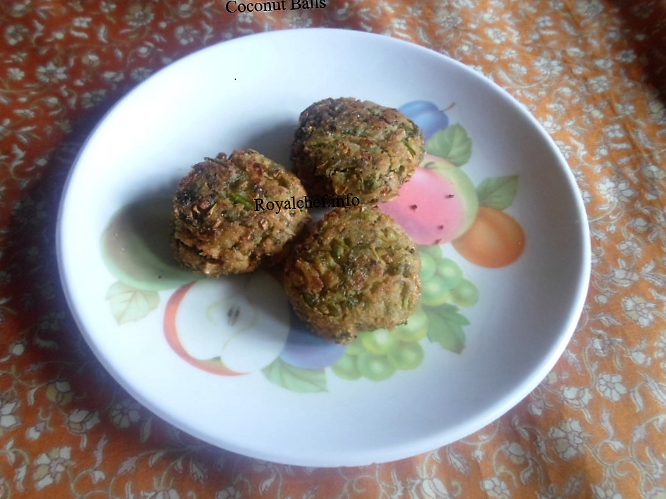 Tasty Coconut Ball Pakoras